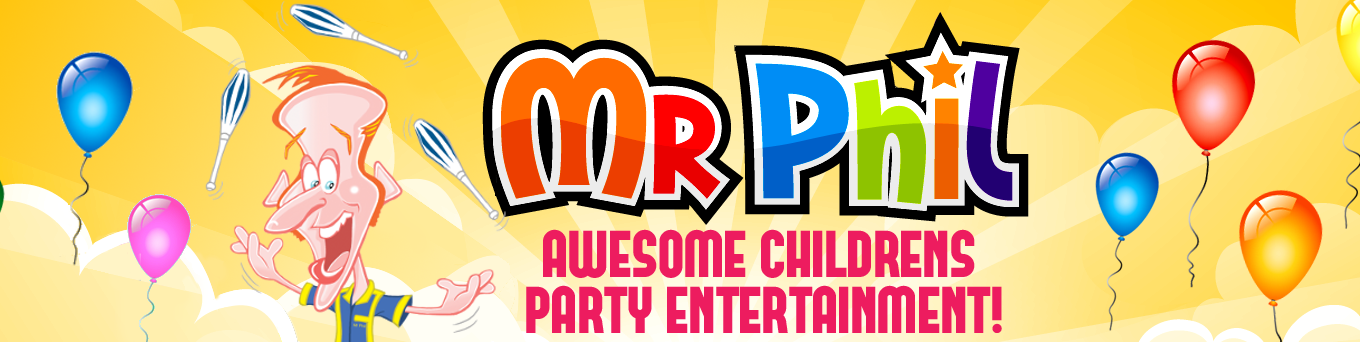 Mr Phil Awesome childrens party entertainment